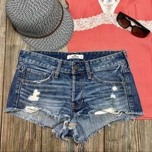 HOILISTER jean shorts